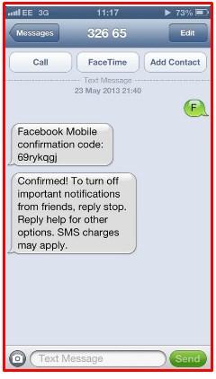 facebook confirmation code generator hack