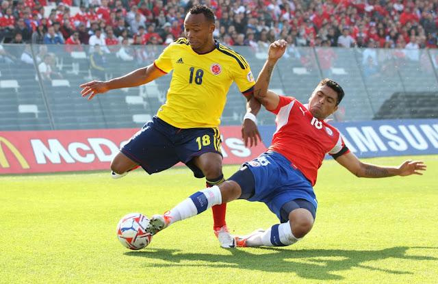 Chile y Colombia en Clasificatorias a Brasil 2014, 11 de septiembre de 2012