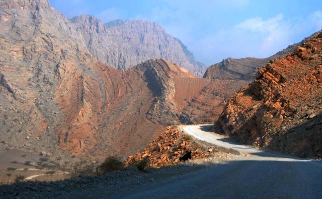Musandam road - Oman
