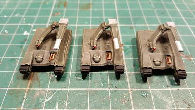 3 more Sabre tanks