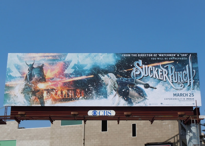 Sucker Punch Samurai billboard