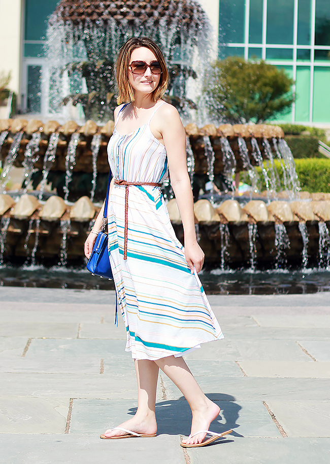 LC Lauren Conrad Kohls Midi Dress