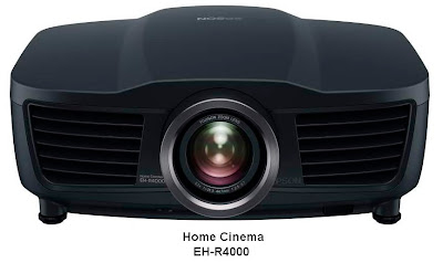Epson Home Cinema Projectors EH-R4000 and EH-R2000