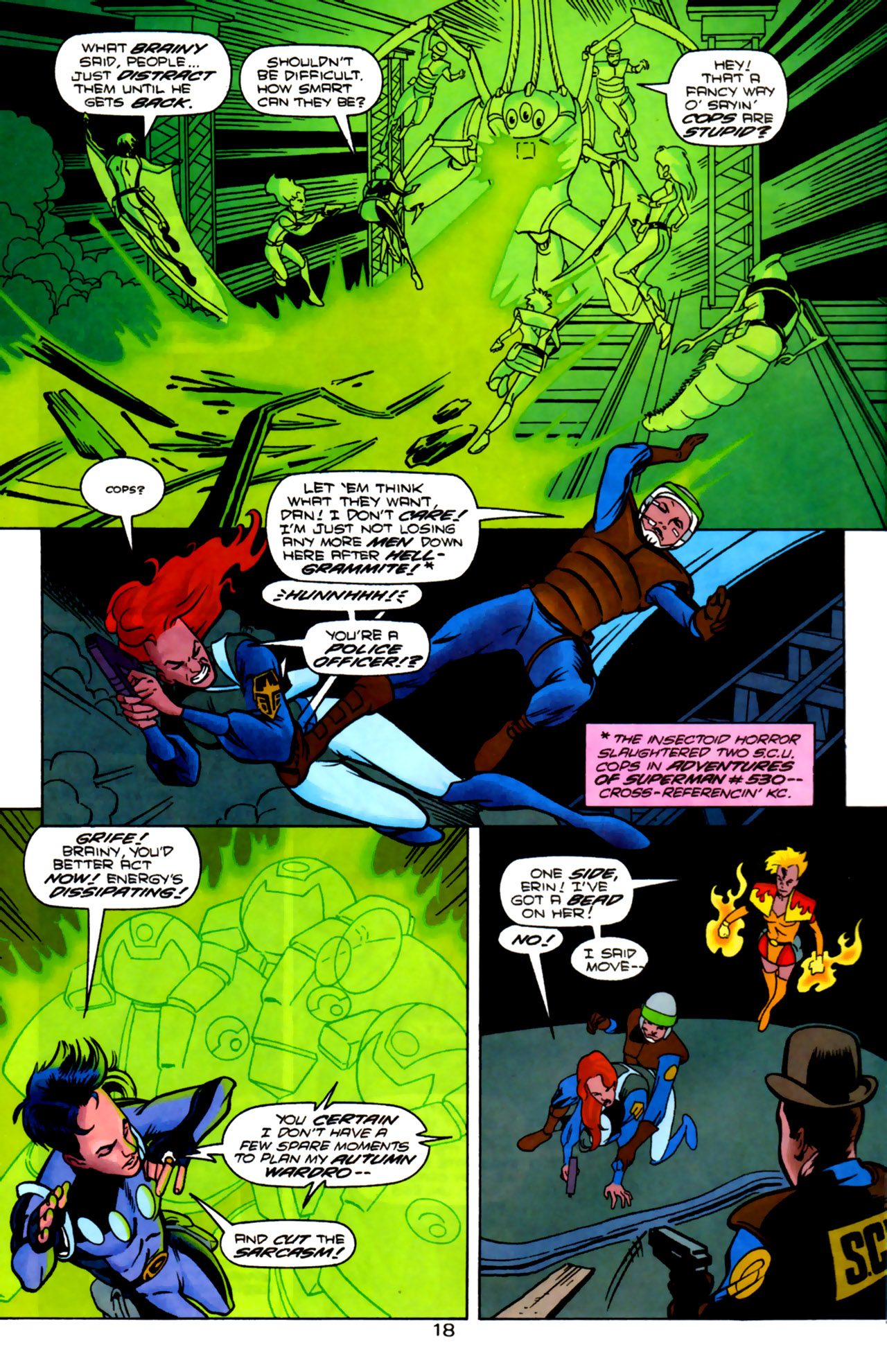 Legion of Super-Heroes (1989) 85 Page 17