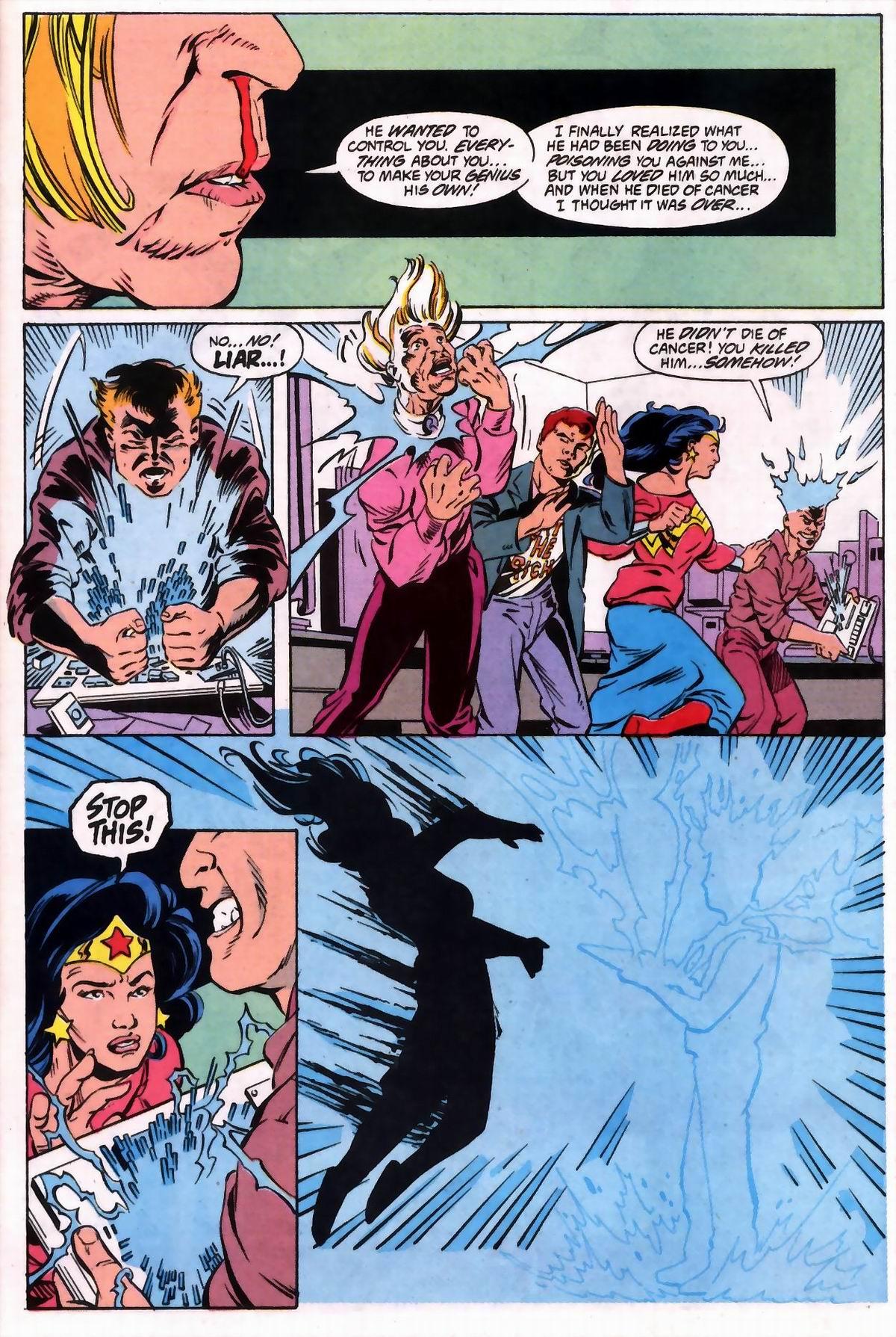 Read online Wonder Woman (1987) comic -  Issue #74 - 18