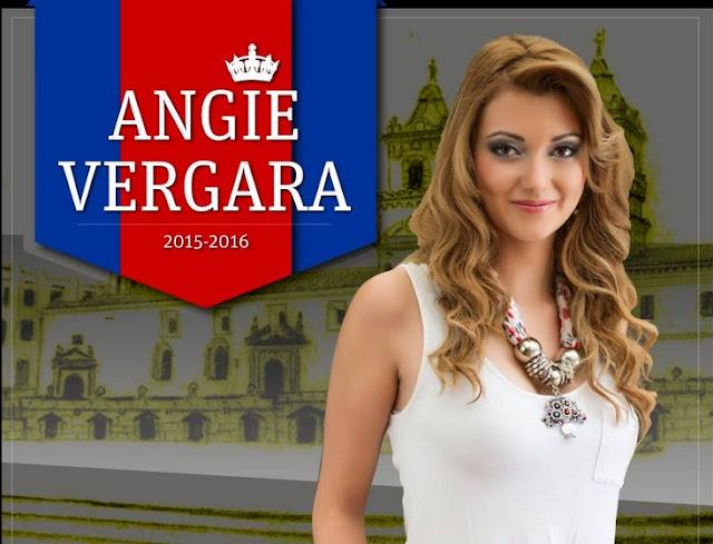 nueva reina quito 2015 angie vergara