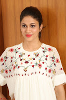 Lavanya Tripathi in Summer Style Spicy Short White Dress at her Interview  Exclusive 184.JPG