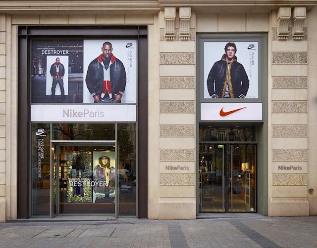 Nike conquista París