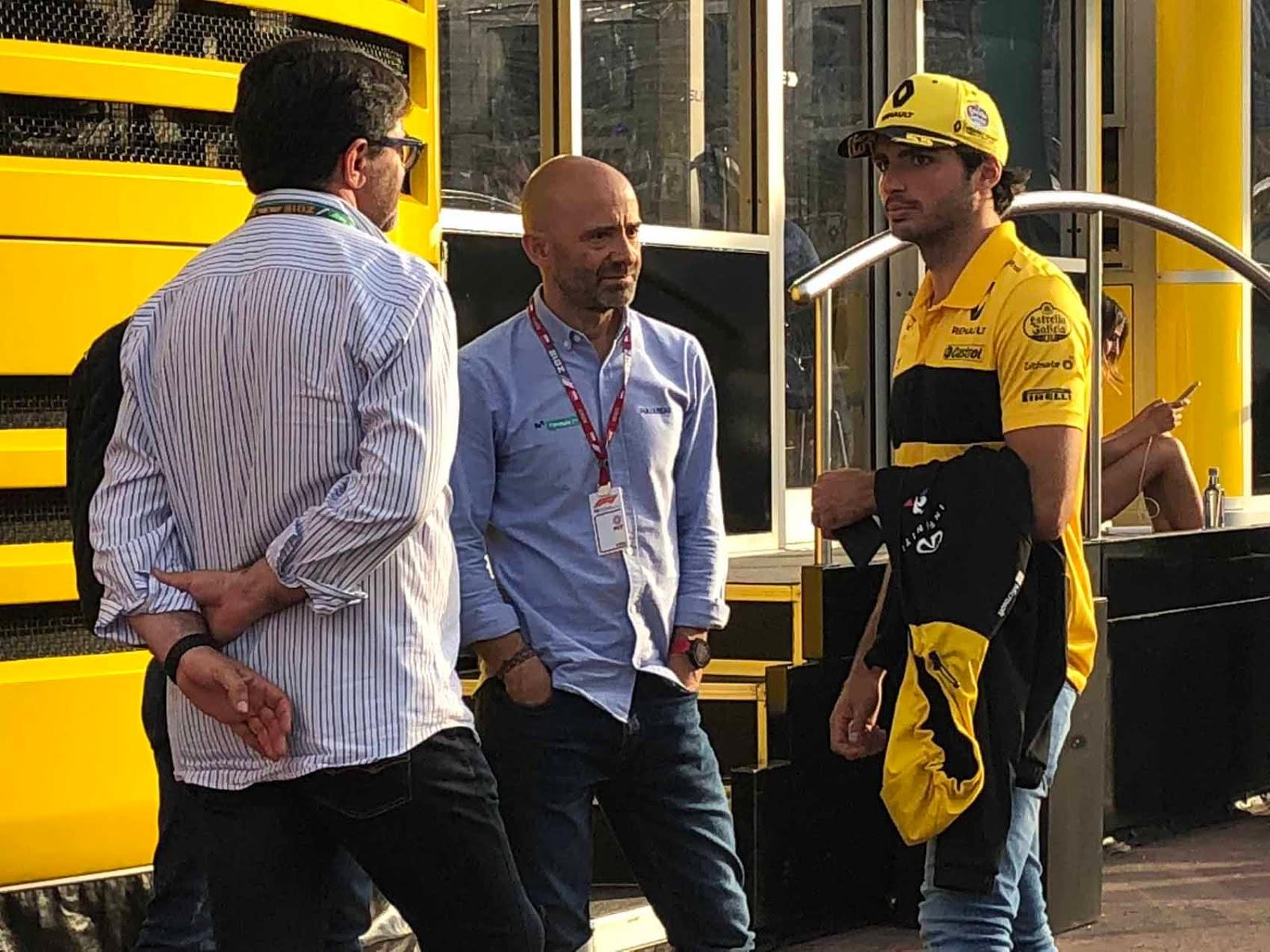 Carlos Sainz Jr. ajaa kolmatta kauttaan F1:ssä