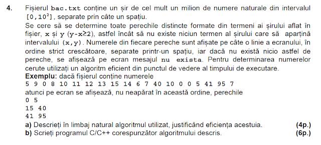 bac 2015 iulie matematica informatica