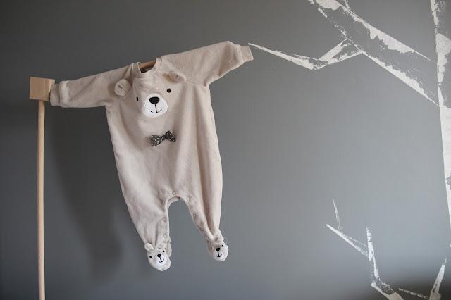 Zimowa szafa dla noworodka