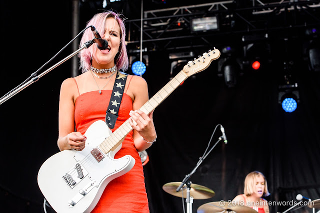 The Beaches at Riverfest Elora 2018 at Bissell Park on August 18, 2018 Photo by John Ordean at One In Ten Words oneintenwords.com toronto indie alternative live music blog concert photography pictures photos