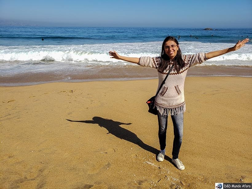 Lookinho para ver o Oceano Pacífico em Viña del Mar - O que fazer em Viña del Mar em um dia, Chile