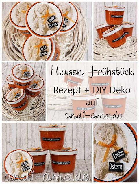 Hasen-Frühstück Rezept und DIY Deko