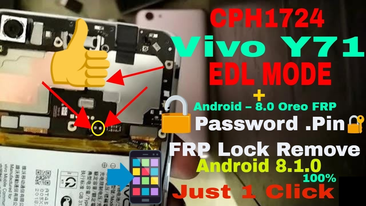 VIVO Y71 HARD RESET AND FRP UNLOCK SOLUTION : RBSOFT MOBILE