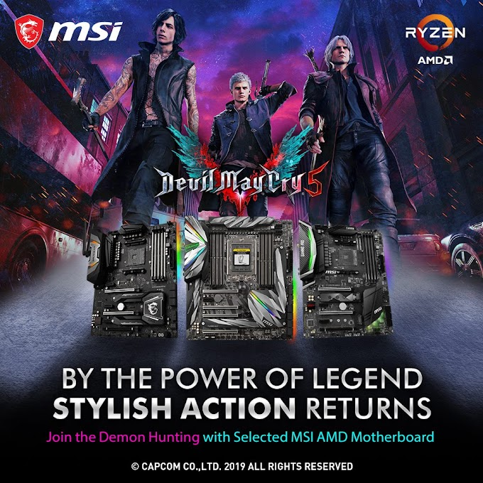 Free Copy of Devil May Cry V on Select MSI AMD Motherboards