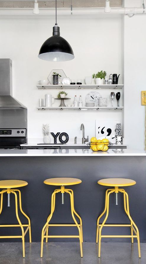 loft kitchen interior design