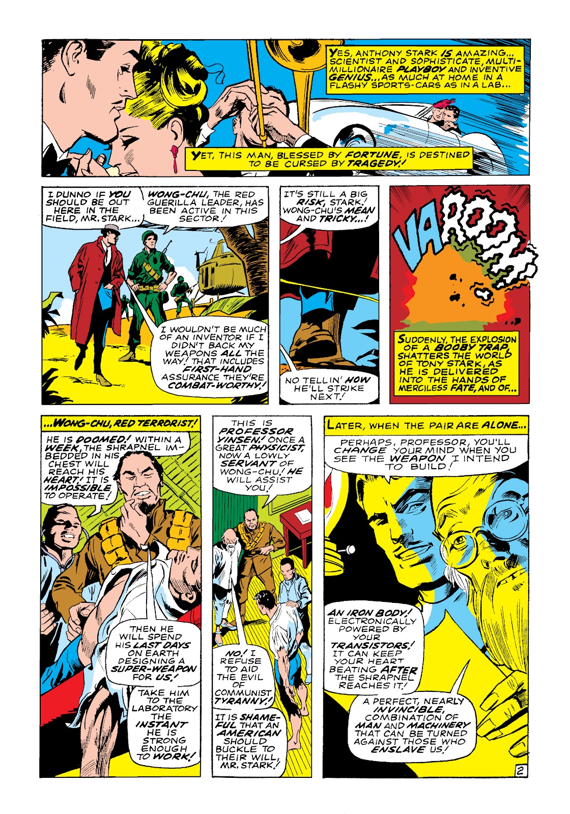 Read online Marvel Masterworks: The Invincible Iron Man comic -  Issue # TPB 4 (Part 3) - 43
