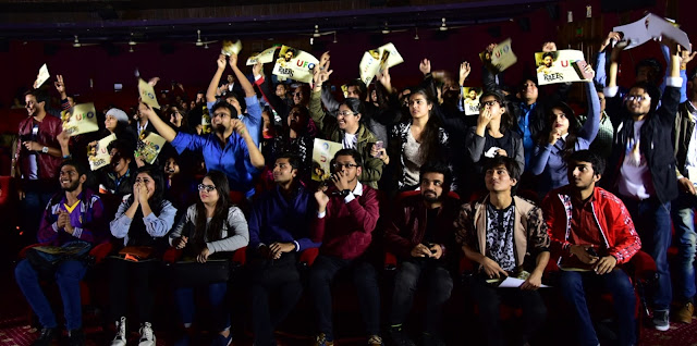 Audience during the UFO _SRK live trailer launch