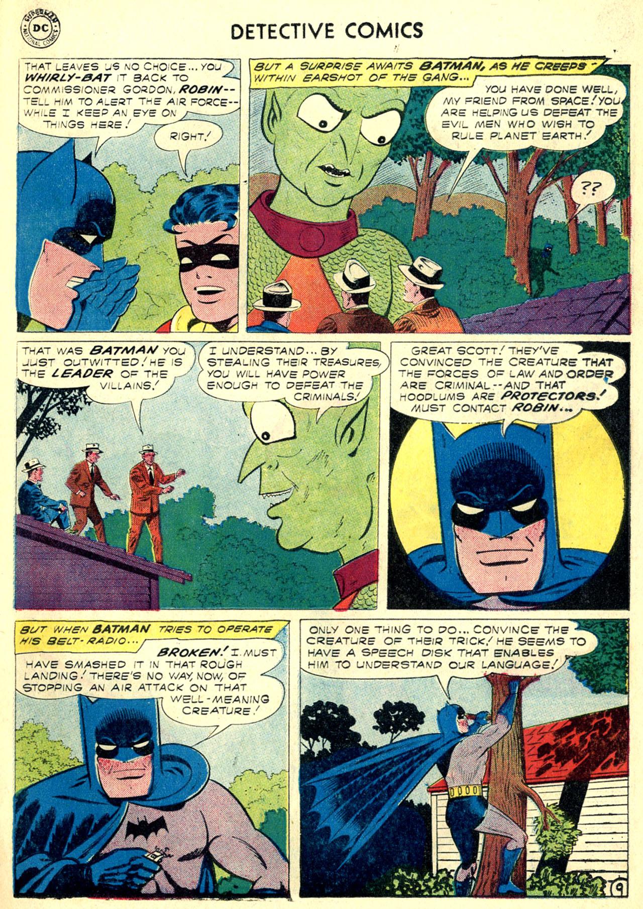 Read online Detective Comics (1937) comic -  Issue #270 - 11