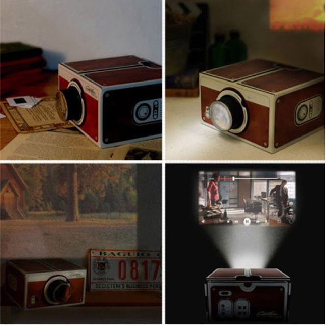 Smartphone Projector 2.0 (CINEMA IN A BOX)