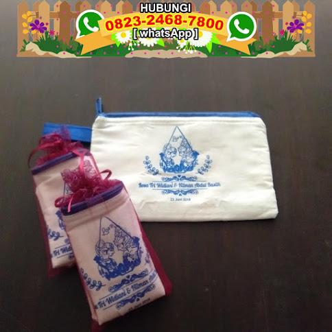 produsen Dompet atau Pouch Blacu Lapis Busa Murah Meriah har