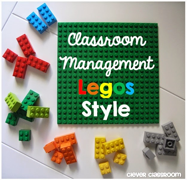 Primary Chalkboard: Classroom Management Legos Style!