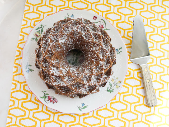 Food Lust People Love: This delectable Brown Sugar Banana Bundt Cake also boasts browned butter in the batter! If you've never tried browned butter in a cake, prepare yourself. You are about to fall in love with the rich flavor it adds.
