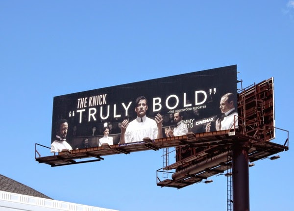 The Knick season 1 Emmy billboard