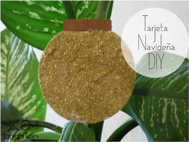 Tarjeta Navideña DIY
