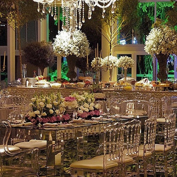 Indoor Wedding Themes: Lush Fab Glam Blogazine: Stunning Indoor And Outdoor
