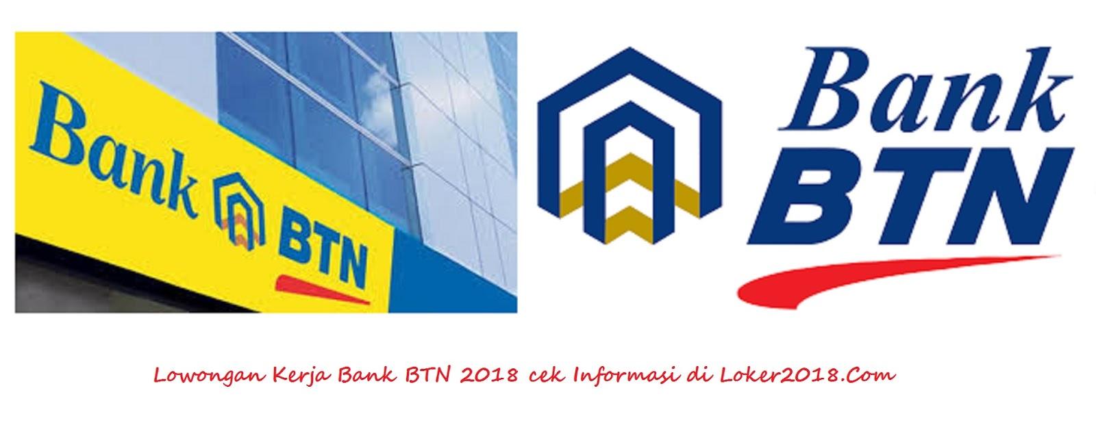 Loker Bank BTN 2018