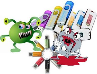 Kenapa Flashdisk Mudah Terserang Virus