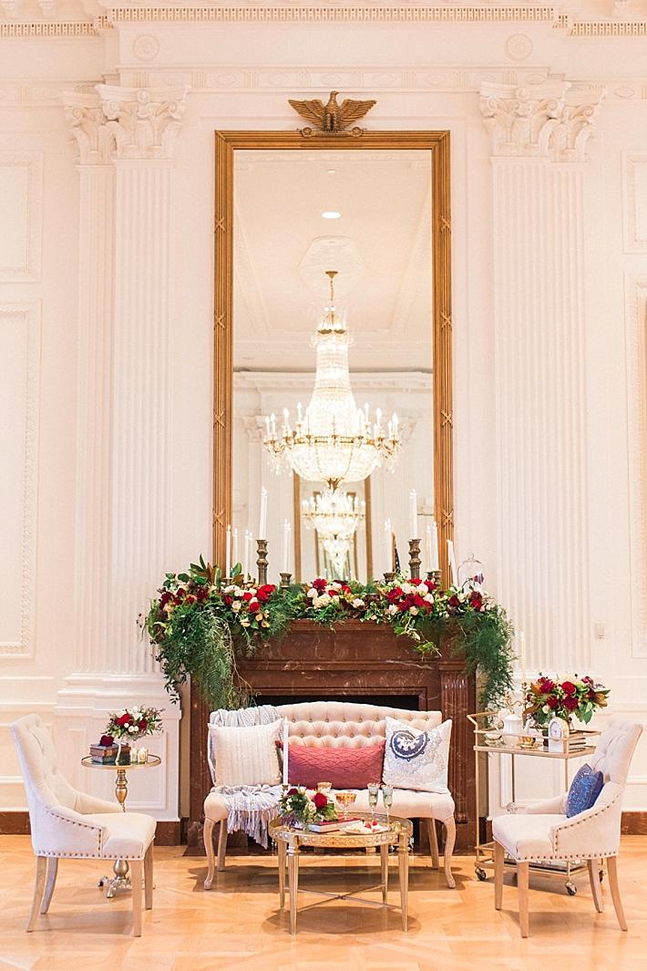 Room 180 white house decor nixon era
