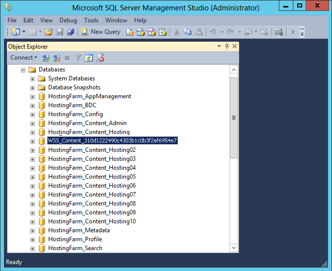 rename sharepoint content database powershell