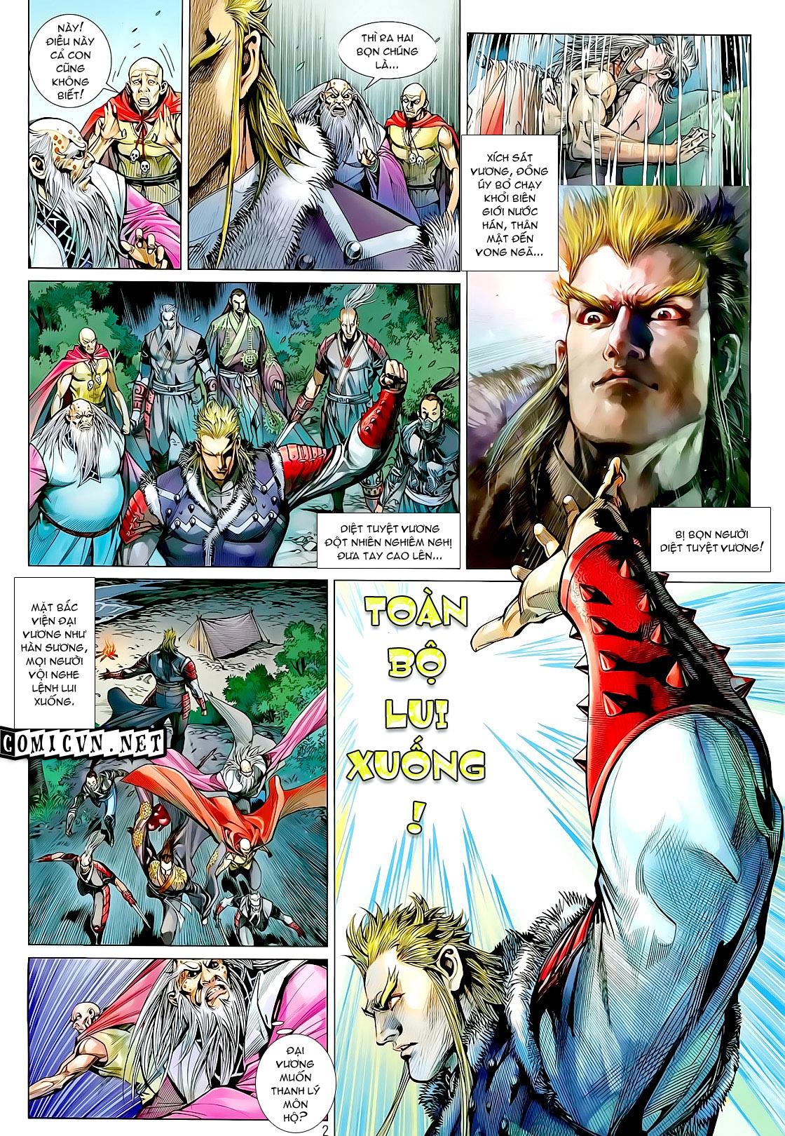 truyện tranh thiết tướng tung hoành Chapter 23/