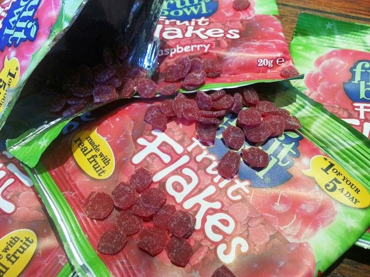 FruitBowl children's fruit snacks Fruit Flakes review