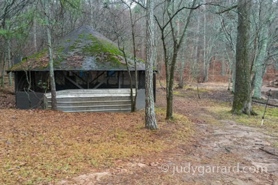 Pavilion at Panola Mountain