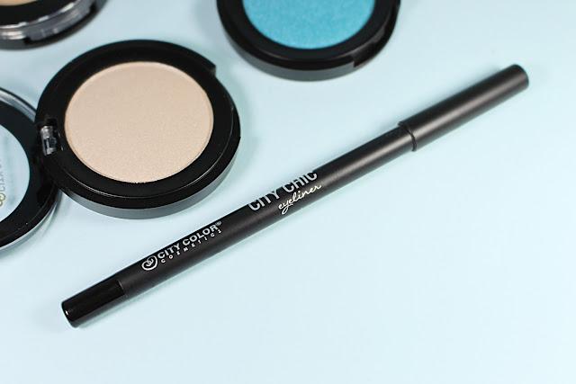City Color Chic Gel Eyeliner 'Carbon' liz breygel makeup cosmetics review before after demo test drive affordable budget friendly brand