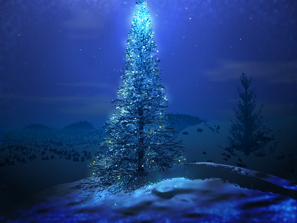 Picturespool xmas tree wallpapers happy christmas - Christmas nature wallpaper ...
