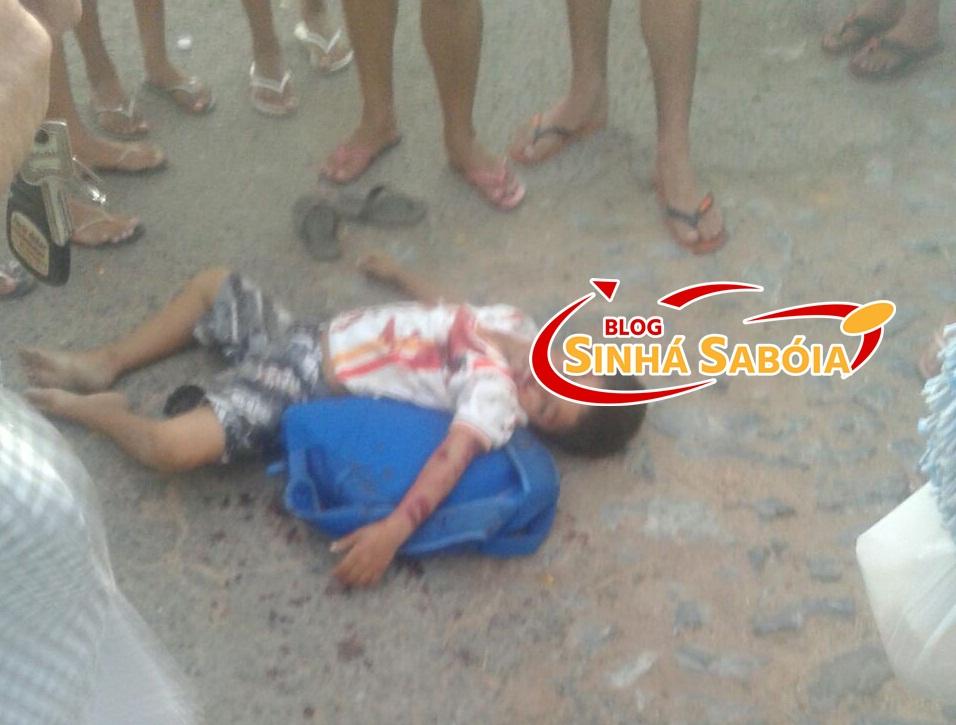 Motorista mata criança