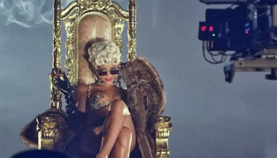 CHECK OUT: Driving the Scenes involving Rihanna's 'Pour That Up' Video.