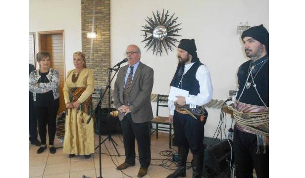 Στην εορταστική εκδήλωση του Συλλόγου Ποντίων Εύβοιας «Οι Κομνηνοί» ο δήμαρχος Χαλκίδας