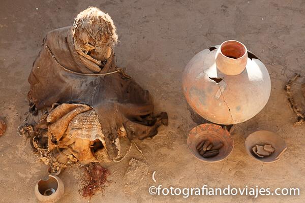Cementerio Chauchilla en Nazca