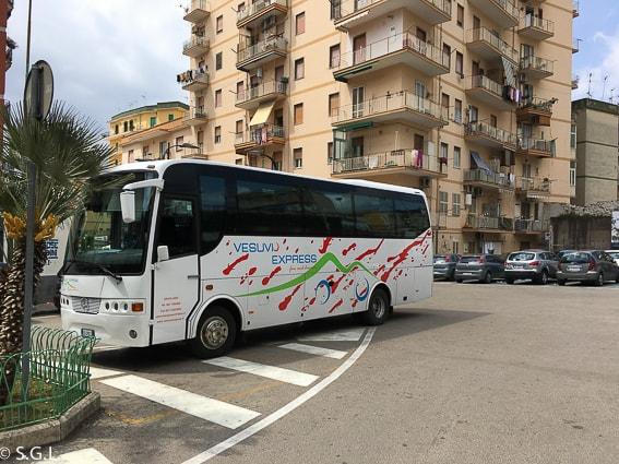 Subida al Vesubio con Vesubio Express