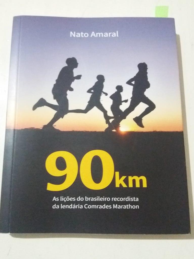 Livro 90 km de Nato Amaral