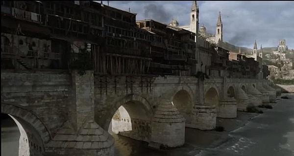 El Puente Romano de Córdoba tuneado para Juego de Tronos