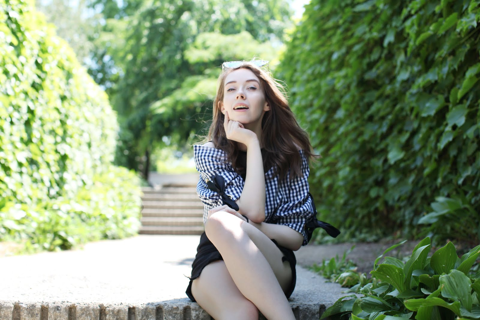 uk fashion blogger how to wear gingham summer ootd inspiration