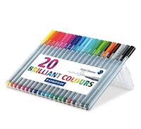 Colored Pens - Must have law school supplies | brazenandbrunette.com