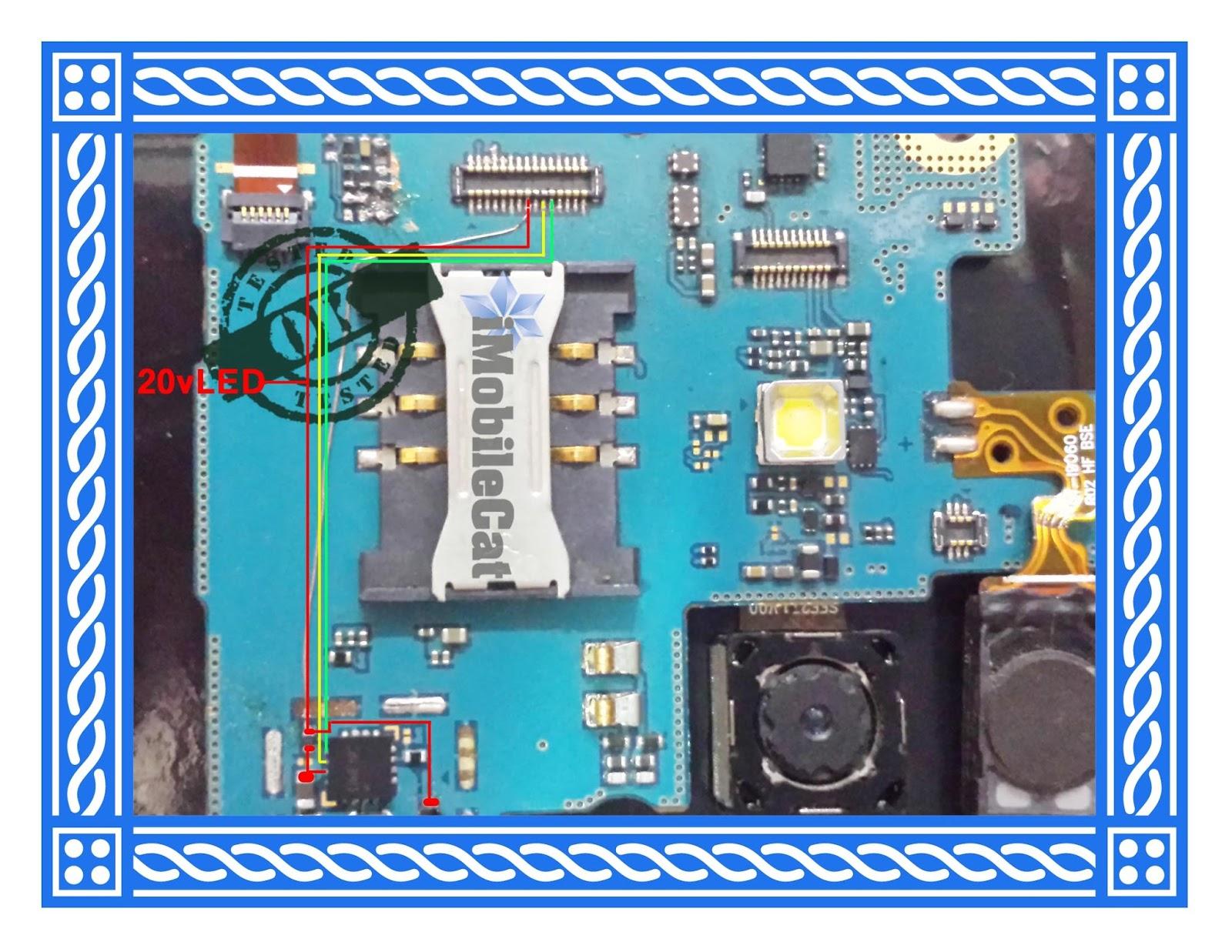 Samsung I9060I Display Light Complete Tested Jumper Solution Here | iMobileCat